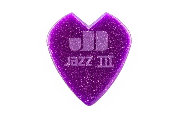 Dunlop - 47RKH3NPS Kirk Hammett Purple Sparkle Jazz III Bag/24