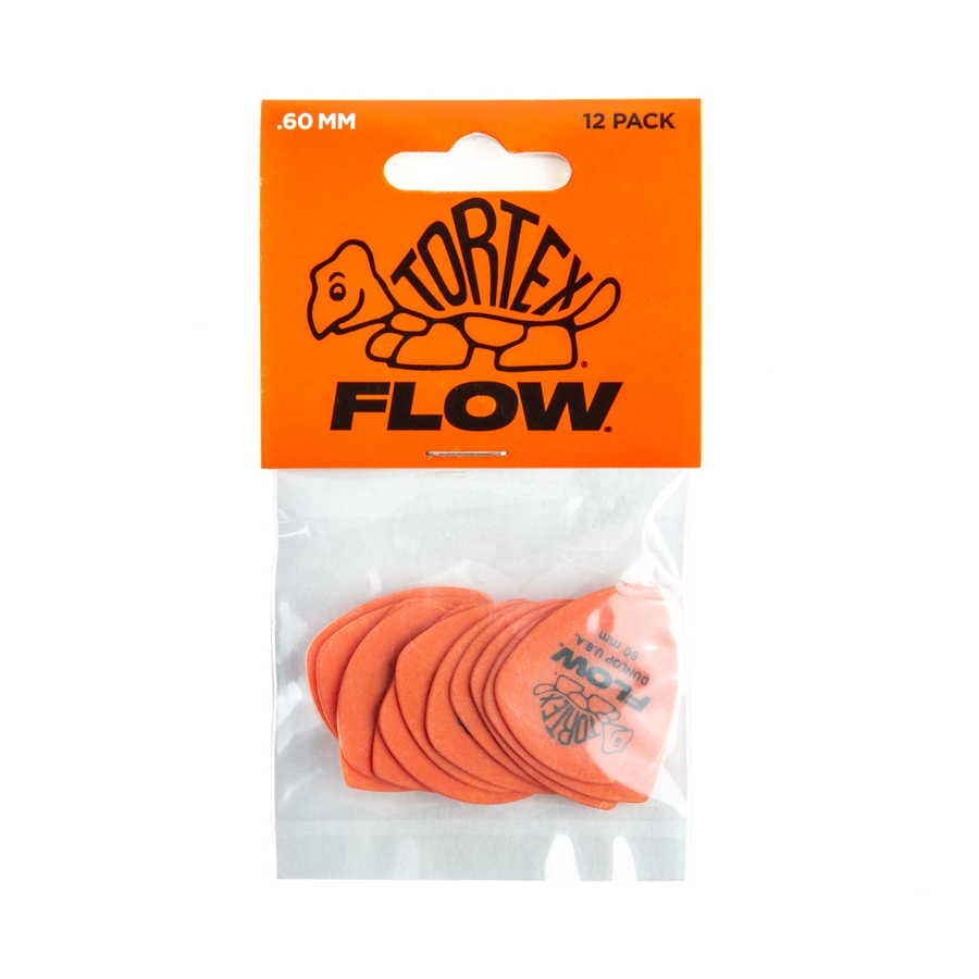 558P060 Tortex Flow Standard .60 mm Player's Pack/12