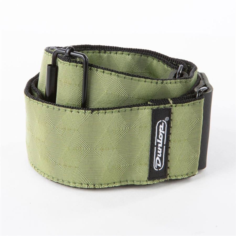 D67-10 Tracolla Jacquard Hexagon Echo Olive