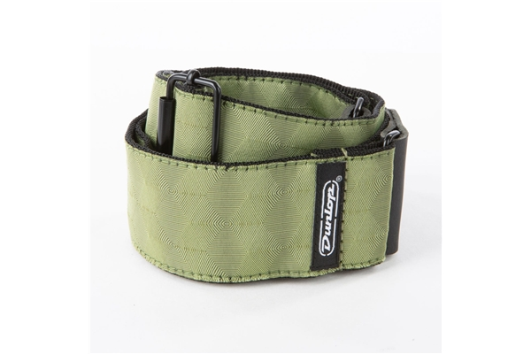 Dunlop - D67-10 Tracolla Jacquard Hexagon Echo Olive