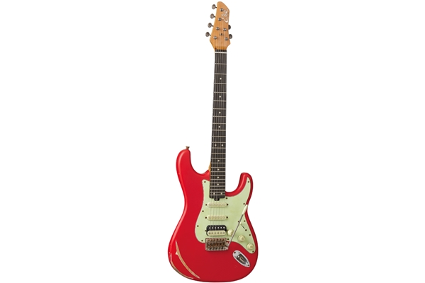 Eko Guitars - Aire Relic Fiesta Red