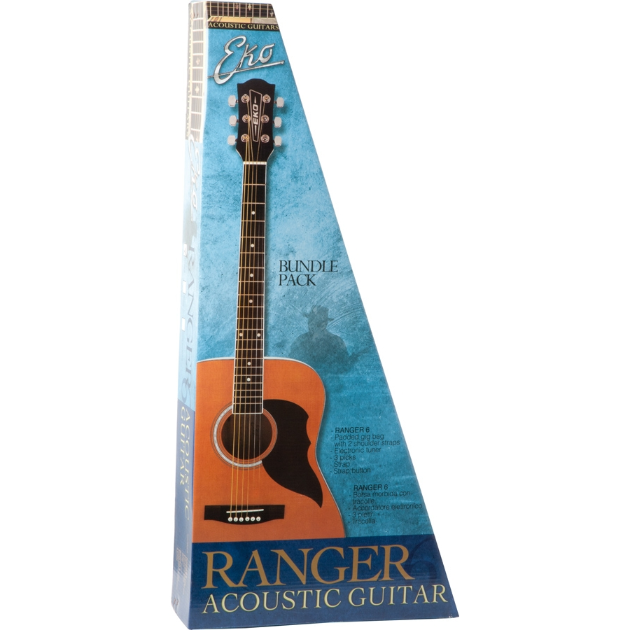 Ranger 6 Pack Blue Sunburst