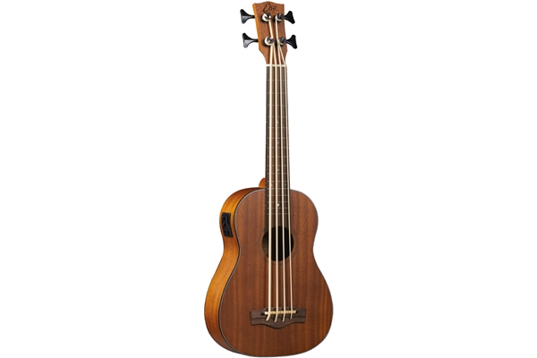 Eko Guitars - Uku Duo Ukubass Fretless Eq