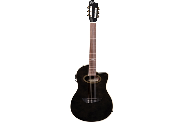 Eko Guitars - NXT Nylon N100ce See Through Black