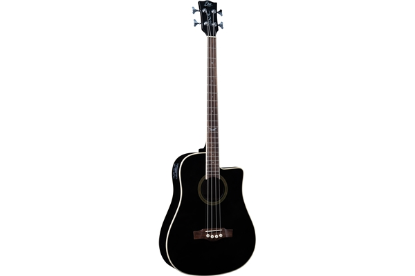 Eko Guitars - NXT B100ce See Through Black
