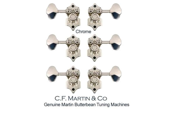 Martin & Co. - TM28BB Meccaniche Butterbean Chrome Set/6