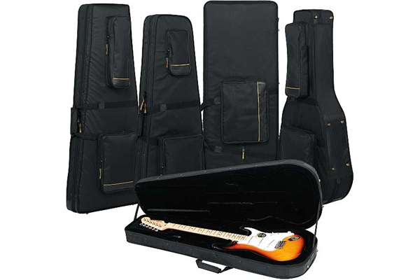 Rockgear - RC 20801 B Soft Light Case Deluxe per chitarra Jazzmaster, Black