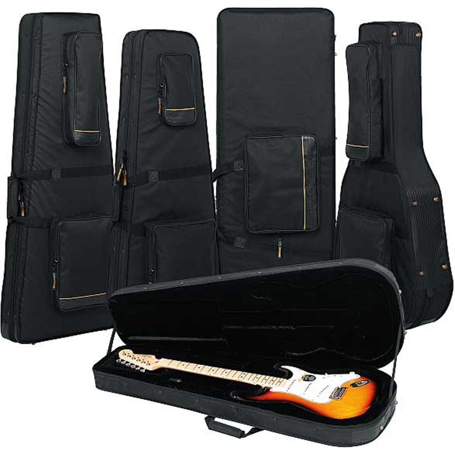 RC 20814 B Soft Light Case Deluxe per Chitarra acustica Jumbo