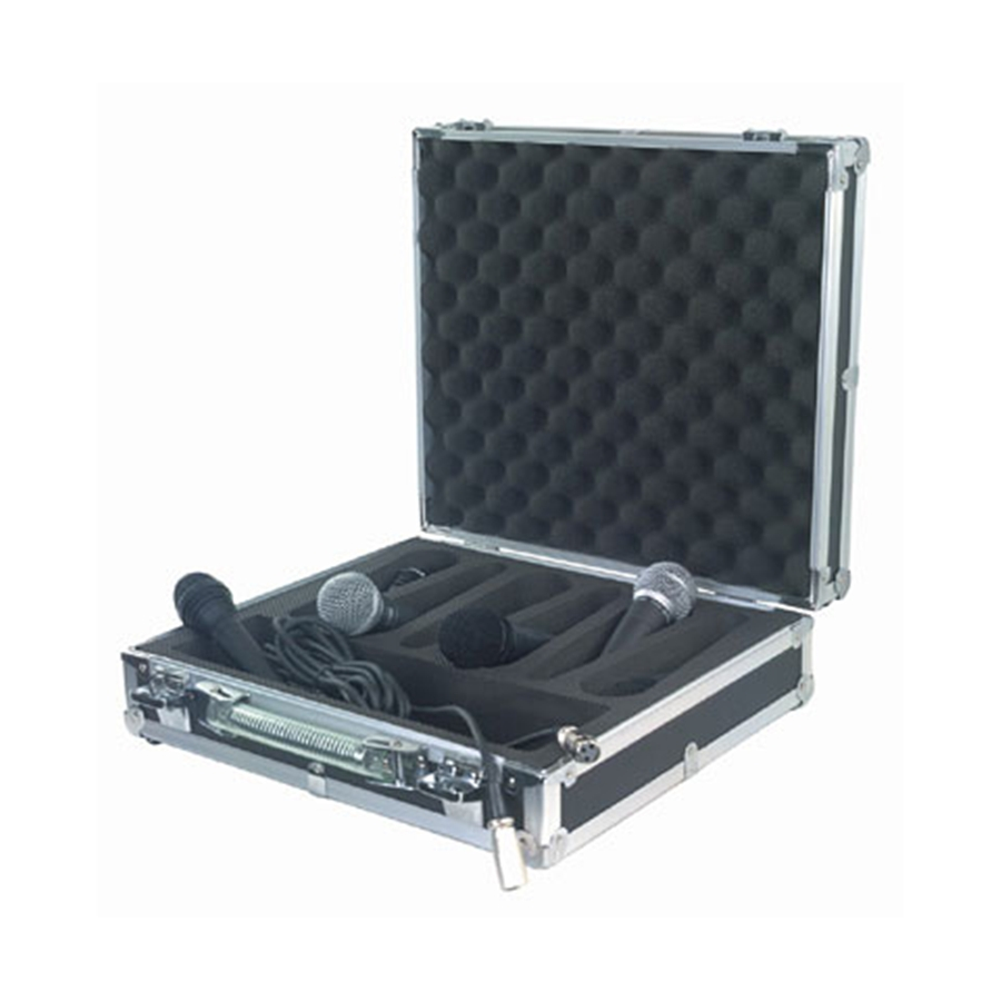 RC 23206 B Flight Case per 6 microfoni