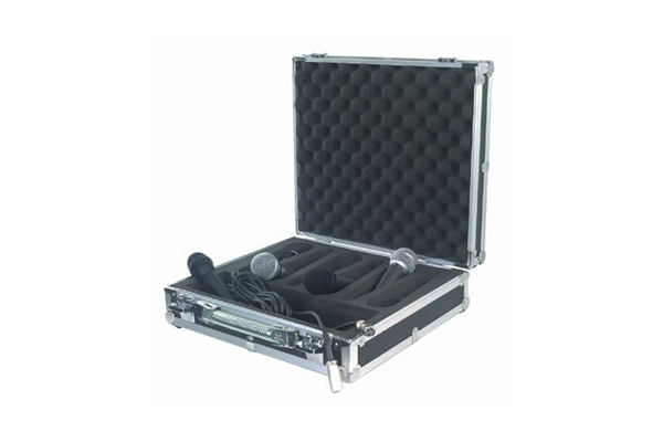 Rockbag - RC 23206 B Flight Case per 6 microfoni