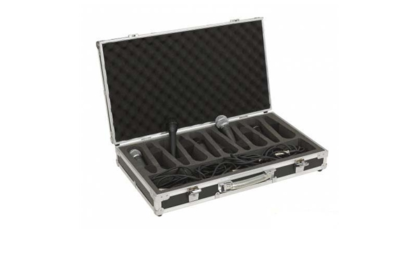 Rockbag - RC 23210 B Flight Case per 10 microfoni