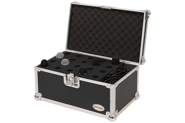 Rockbag - RC 23221 B Hole Case per 20 microfoni