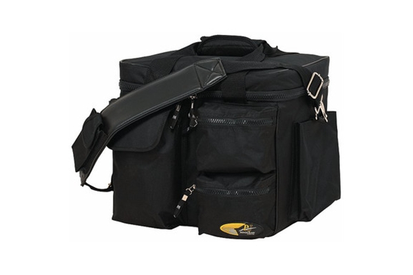 Rockbag - RB 27150 B Borsa DJ in Nylon per 80 vinili, Black