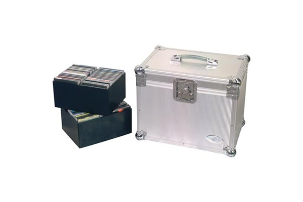 Rockbag - RC 27341 A DJ Fligh Case per 120 CD in Alluminio
