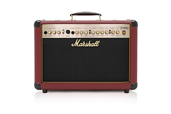 Marshall - AS50DC Blood Red 50 Watt 2x8