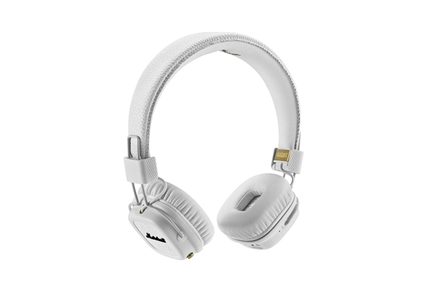 Marshall Headphones lifestyle - Cuffie Major II Bluetooth White