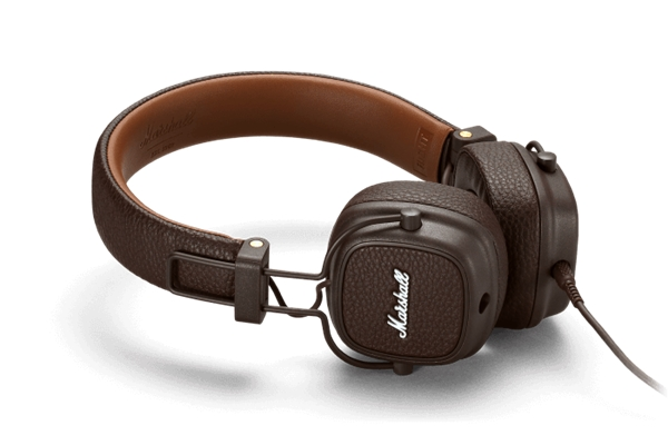 Marshall Headphones - ACCS-00190 Cuffie Major III Brown