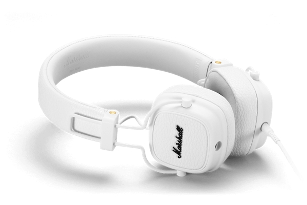 Marshall Headphones - ACCS-00191 Cuffie Major III White