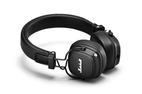 Marshall Headphones - ACCS-00192 Cuffie Major III Bluetooth Black