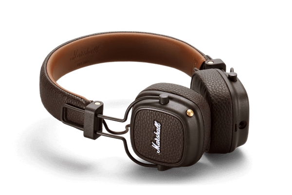 Marshall Headphones - ACCS-00193 Cuffie Major III Bluetooth Brown
