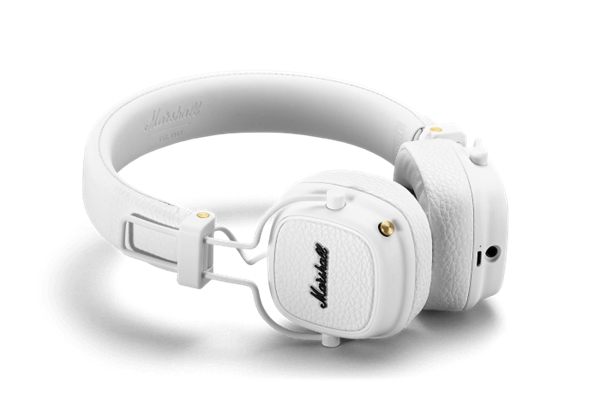 Marshall Headphones - ACCS-00194 Cuffie Major III Bluetooth White