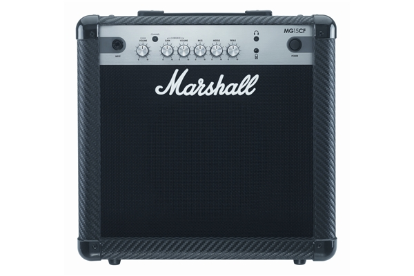 Marshall - MG15CF 15 Watt Carbon Fiber Combo