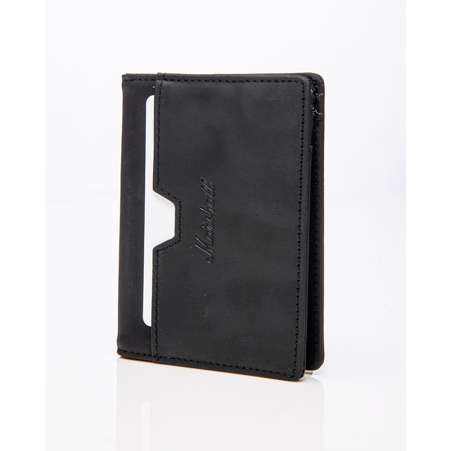 Marshall ACCS-00218 Portafogli Suedehead Black