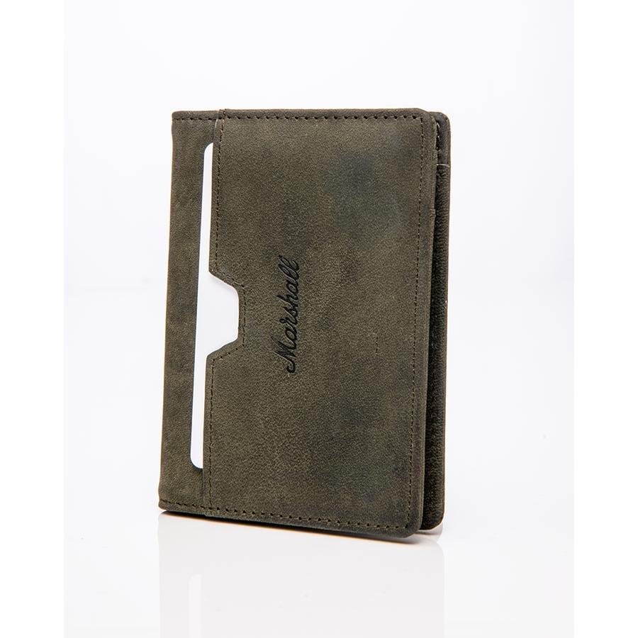 Marshall ACCS-00219 Portafogli Suedehead Olive
