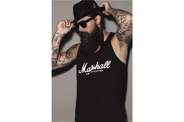 Marshall - Unisex T/Top Script Logo Medium (G11-10102-M)