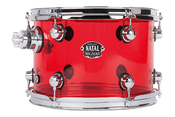 Natal  - S-AC-T17-RD1 Arcadia Acrylic Tom Red 10