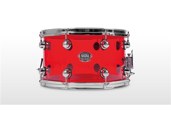 Natal  - Arcadia Acrylic Rullante 14x6,5 Transparent Red