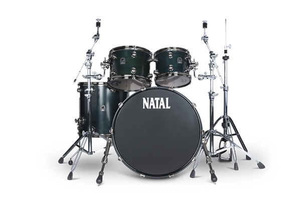 Natal  Walnut Originals UFX Set Cerulean Blue