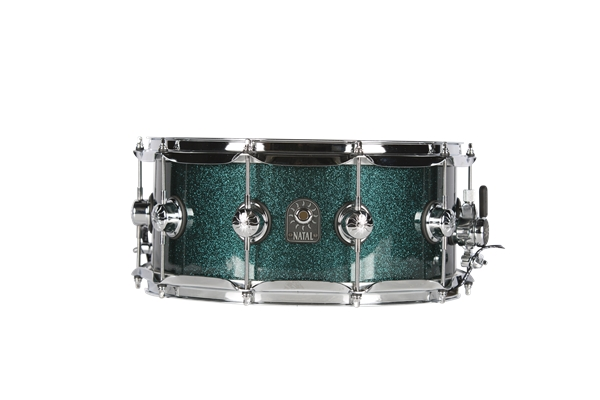 Natal  - Cafè Racer Rullante 14x6,5 British Racing Green Sparkle