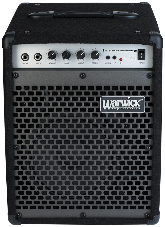 Blue Cab 20 - Combo Bass Amp, passive and active inputs, 20 Watt, 8