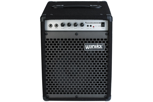 Warwick - Blue Cab 20 - Combo Bass Amp, passive and active inputs, 20 Watt, 8