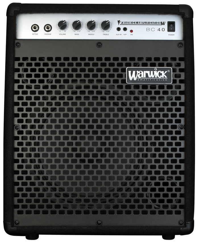 Blue Cab 40 - Combo Bass Amp, passive and active inputs, 40 Watt, 10