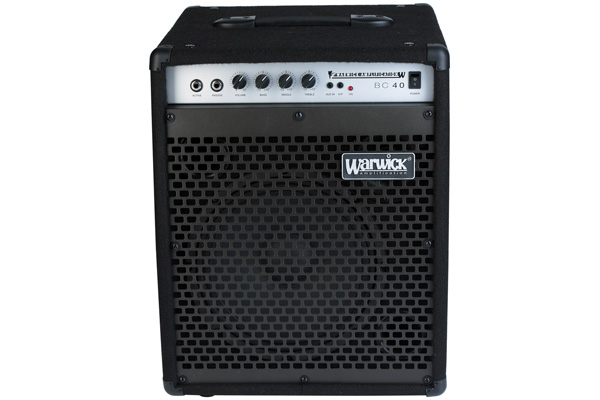 Warwick - Blue Cab 40 - Combo Bass Amp, passive and active inputs, 40 Watt, 10