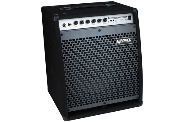 Warwick - Blue Cab 80 Combo Bass Amp, passive and active inputs, 80 Watt, 12