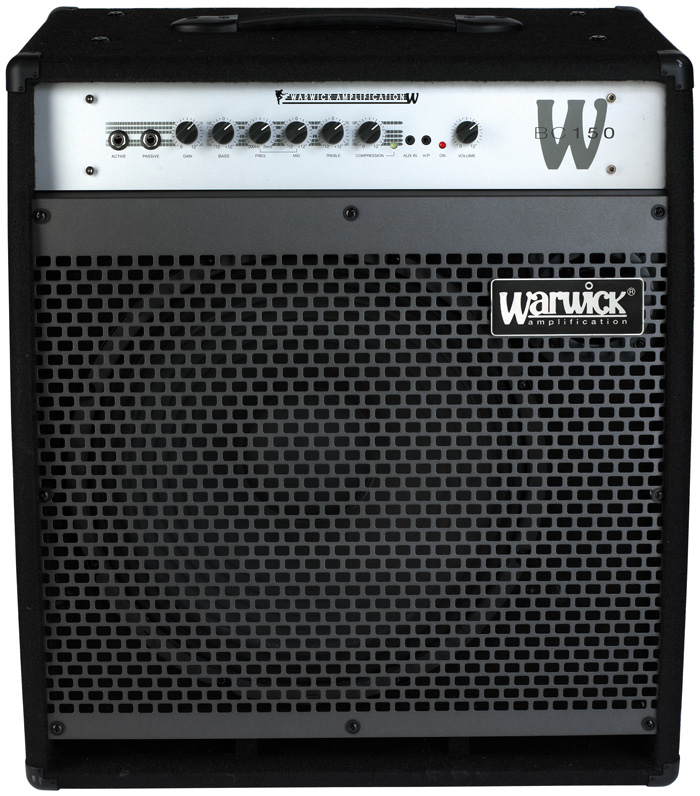 W Bue Cab 150 - Combo Bass Amp, passive and active inputs, 150 Watt, 15