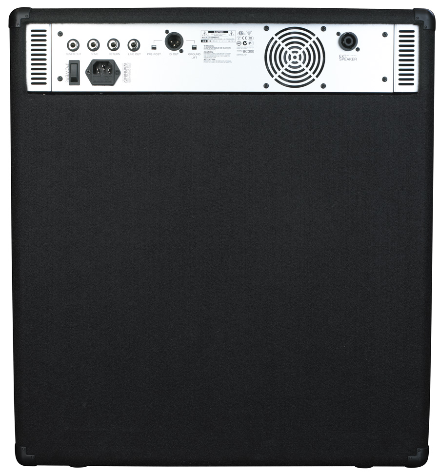 W Bue Cab 300 - Combo Bass Amp, passive and active inputs, 300 Watt, 15