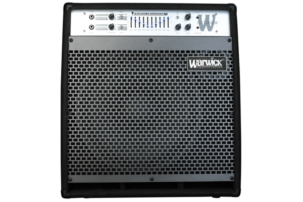 Warwick - W Bue Cab 300 - Combo Bass Amp, passive and active inputs, 300 Watt, 15