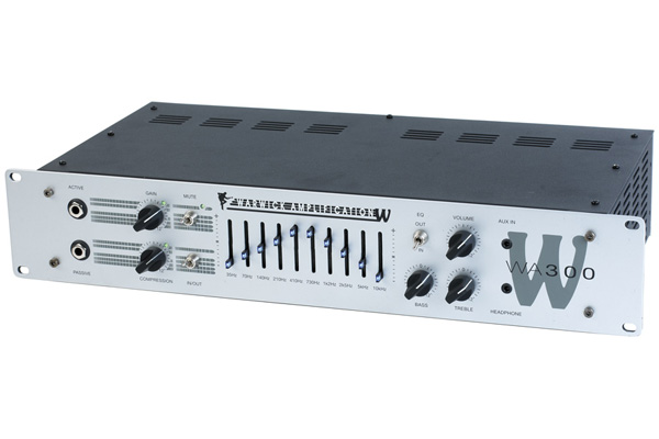 Warwick - W Amp 300 Head - passive and active inputs, 300 Watt,