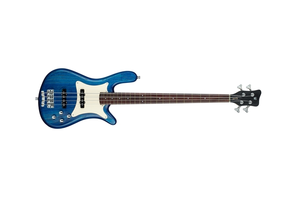 Warwick - Streamer Cv 4 Ocean Blue Oil Finish
