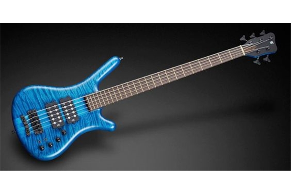 Warwick - Corvette $$ Nt 5 Ocean Blue Oil Finish
