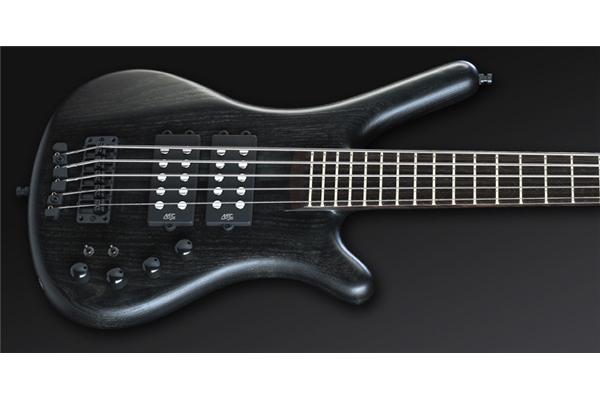 Warwick - Corvette $$ Nt 5 Nirvana Black Oil Finish