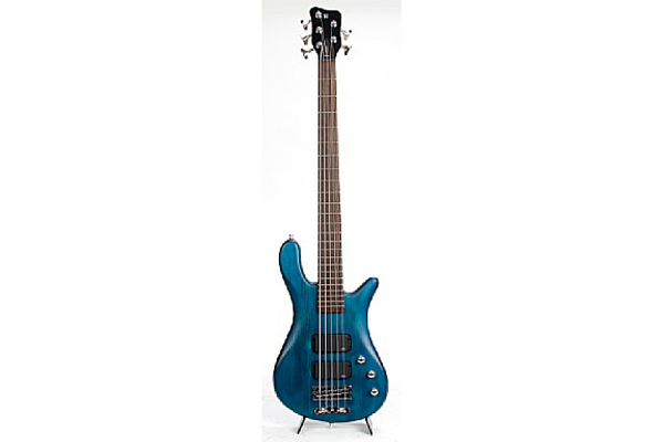 Warwick - Rb Streamer Standard 5 Ocean Blue Oil Finish