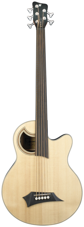 Rb Alien Standard 5 Natural Fretless