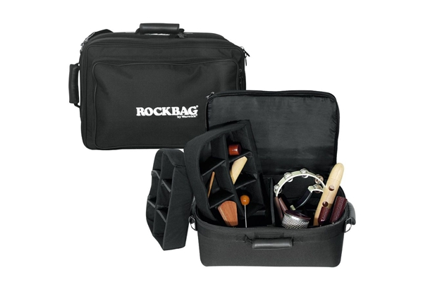 Rockbag - RB 22781 B Borsa Deluxe per Accessori percussioni 40x23x23, Medium