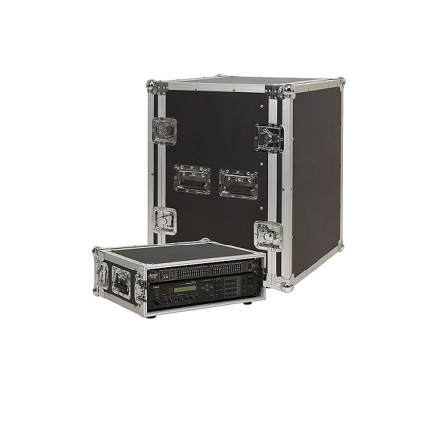 RC 24115 B Rack Case Professional 15 Unità