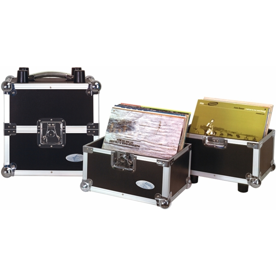 RC 27162/50 DJ Flight Case per Vinili 50/50, 100 LP